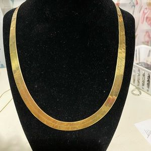 10kt herringbone chain